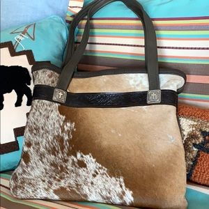 That's Just Bull Cowhide Purse